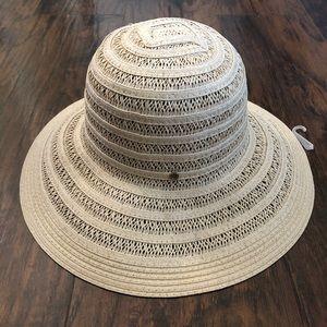 Jones New York Women's Straw/Sun Hat